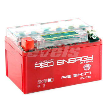 Red Energy RE12-07 (YTX7A-BS 7А/ч) зал.